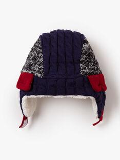 Chapka à torsades en tricot  VINOAGE / 20H4PGI2BON070