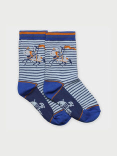 Water blue Socks RACHOCAGE / 19E4PG41SOQ213