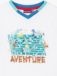 T-shirt imprimé labyrinthe ZABLOAGE / 21E3PGJ1TMC000