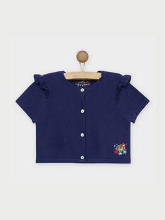 Cardigan Bleu marine REROETTEEX / 19E2PFE2CAR070