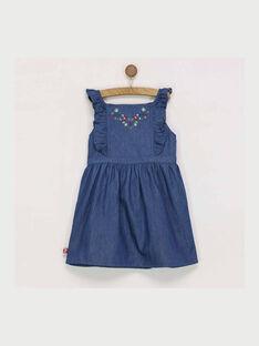 Robe chasuble bleue RADODETTE / 19E2PF61CHS704