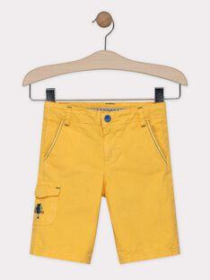 Straw yellow Bermuda SALOUAGE / 19H3PG22BER104