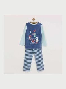Pyjama bleu REBARAGE / 19E5PG73PYJ703