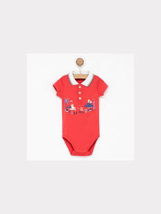 Red Body suit NAZODY / 18E1BGS1BOD050