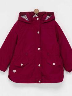 Rose Rain coat PEBALOETTE / 18H2PF72IMP302