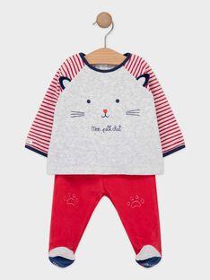 Pyjama Rouge TEPIMEO / 20E5BG71PYJ050