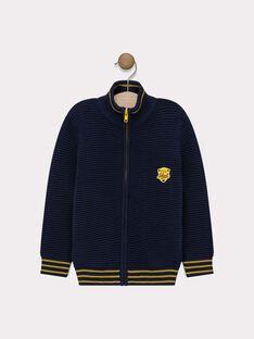 Navy Waistcoat SAFEUILLAGE / 19H3PG41GIL070