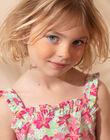 Robe de plage rose enfant fille ZAOFAETTE / 21E2PFQ1RBSC216