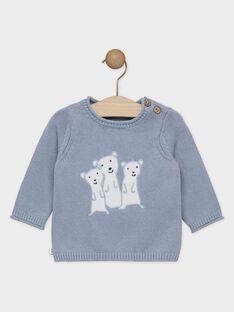 Greyish blue Pullover SAKELIO / 19H1BG61PUL205