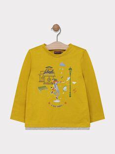 Yellow T-shirt SARIMAGE / 19H3PG42TMLB106