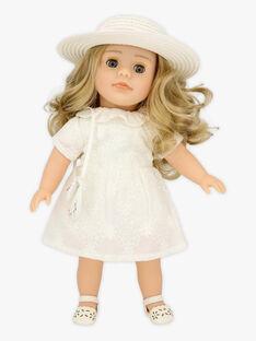 Tenue cérémonie pour poupée Adèle TATENUC / 20EZENJ1TEN000