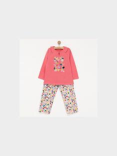 Dark rose Pajamas PIWAJETTE / 18H5PF52PYJ313