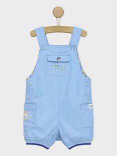 Greyish blue Short Overalls RAUBERT / 19E1BGP1SAC205