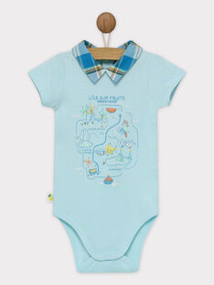 Pale turquoise Body suit RAWILLIAM / 19E1BGQ1BOD203