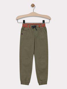 Kaki pants SATIAGE / 19H3PG31PAN628