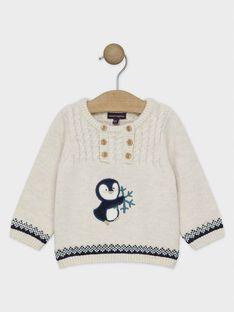 White Pullover SATITUS / 19H1BGN1PULA015