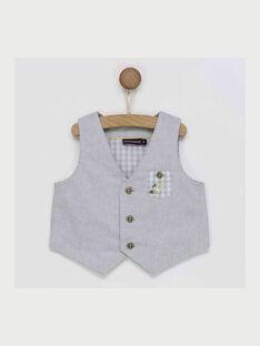 Grey pearl Sleeveless Jacket RYDAMIEN / 19E1BGS1GSM904