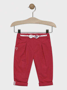 Strawberry rose pants SANADINE / 19H1BFE1PAN308
