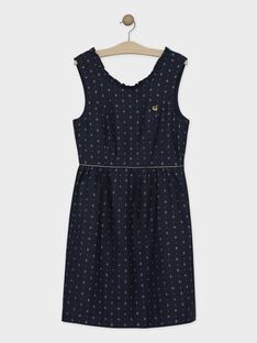 Navy Chasuble dress SEULOEF / 19H2FFP1CHS070