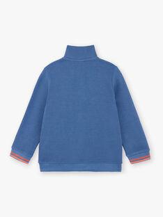 sweat zippé bleu ZECOAGE / 21E3PGB1SWEC230