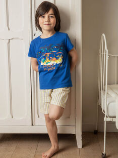 Pyjama short petit garçon TEDINAGE / 20E5PGE3PYJ208