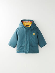 Parka 3 en 1 vert et jaune  VIELIOTT / 20H1BG81IMP608