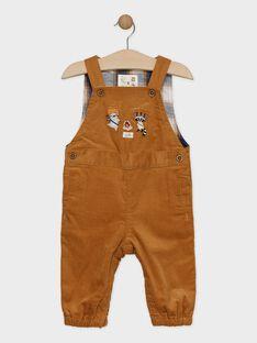 Brown Overalls SARUBEN / 19H1BGI1SAL817