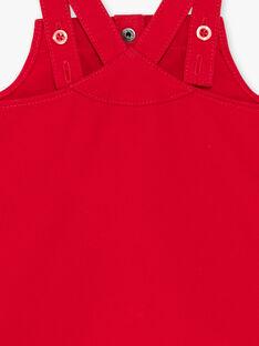 Chasuble rouge brodée ZAASTRID / 21E1BFJ1CHSF505