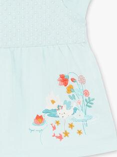Tee-shirt manches courtes vert pâle ZACAROLE / 21E1BFI1TMC629