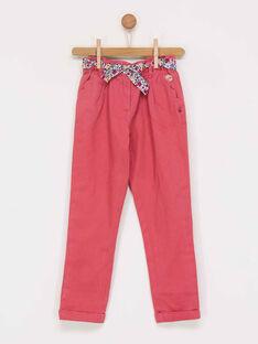 Pink pants PAHFALETTE / 18H2PFH1PAND300