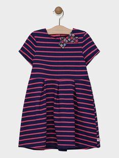 Navy Dress SIJOLETTE / 19H2PF42ROB070
