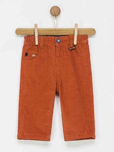 Pantalon orange PAOLLY / 18H1BGK2PAN405