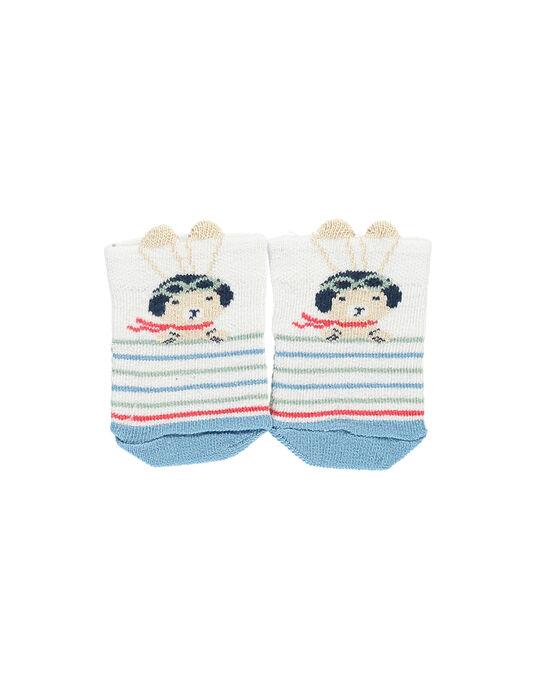 White Low socks RAPACO / 19E4BGH1SOB000