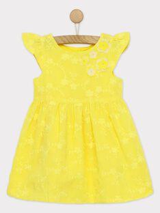 Golden yellow Dress RYEDAETTE / 19E2PFS2ROB106
