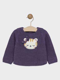 Purple Pullover SAGAELLE / 19H1BF61PUL712