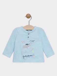 Pale turquoise T-shirt SAOLAF / 19H1BGE1TML203