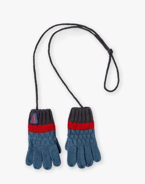Gants en tricot fantaisie petit enfant garçon VUGANTAGE / 20H4PGE1GANC203