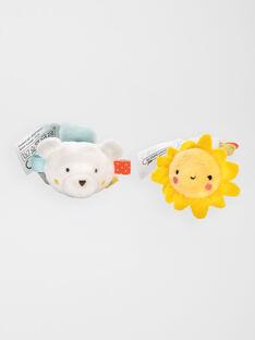 Petits amis bracelets hochets grelots  RATTLE BEAR SUN / 20J78351HCA099
