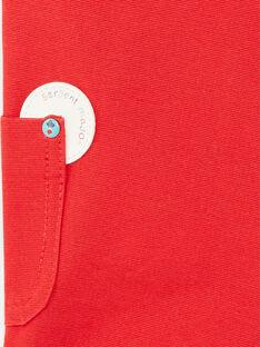 Salopette courte rouge ZAKENZO / 21E1BGJ2SAC050