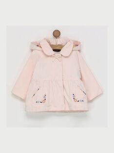 Pink Rain coat RADILOU / 19E1BFD1IMPD310