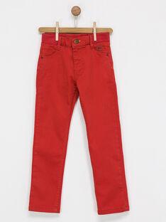 Red pants NIBOIFAGE / 18E3PGI1PAN511
