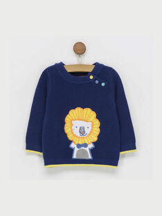 Navy Pullover RAEDOU / 19E1BGC1PUL713