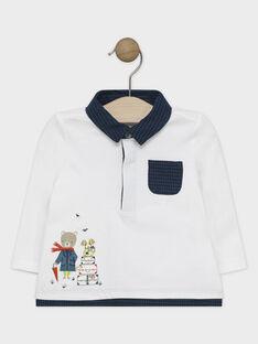 Off white Polo shirt SAMILO / 19H1BGC1POL001