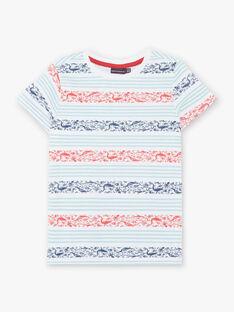 Tee Shirt Manches Courtes Blanc ZIZAGE / 21E3PGT1TMC000