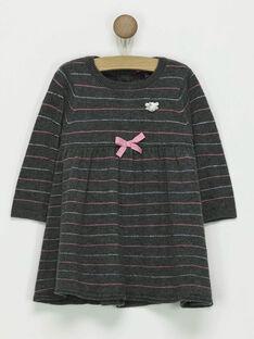 Dark grey Dress PASOIZIC / 18H1BFQ1ROB942