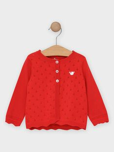 Cardigan Rouge TAMARION / 20E1BFH2CAR050