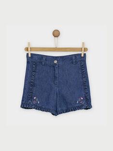 Blue denim Shorts RABELETTE / 19E2PF41SHO704