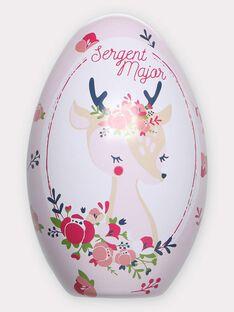 Œuf de Pâques Biche avec cape à colorier TUTUETTE 1 / 20E2PFU1CPO000