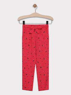 Pink pants SAJANETTE / 19H2PF31PAND325
