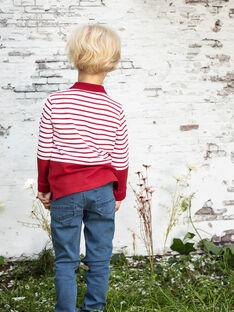 Jean et son porte-clés skate enfant garçon BACIOAGE / 21H3PG11JEAP269